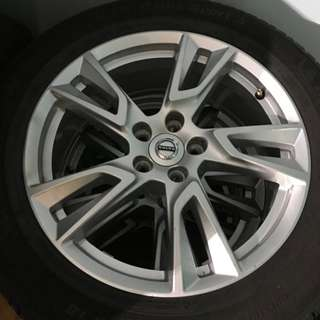 "Volvo 18"" Rims & Tyres Set for V90CC"