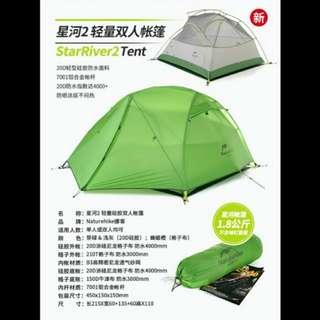 Naturehike 星河雙人帳篷 露營