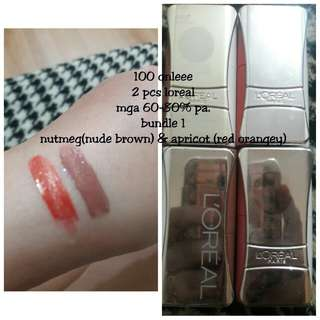 Bundle-LOREAL INFALLIBLE 2 IN 1 LIQUID LIPSTICK AUTHENTIC FROM US.