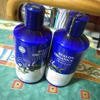 Avalon Organic Shampoo /Conditioner- Damage Control
