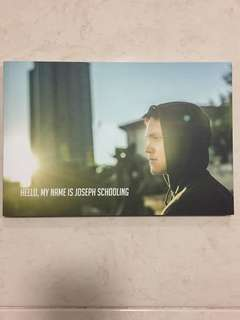Hello, my name is Joseph Schooling