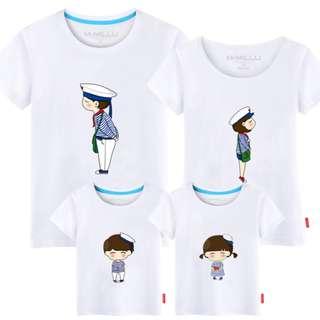 Family / Couple T-Shirts – Navy