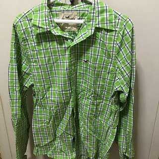 Hollister checkered longsleeves