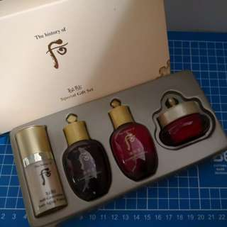 Whoo special gift set