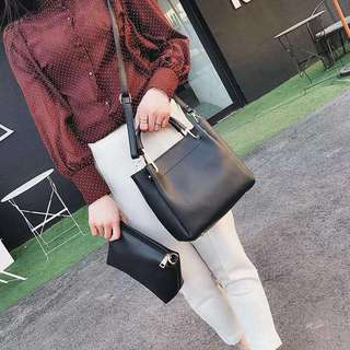 Black Twin HandBag