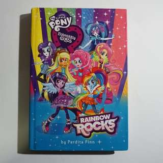 My Little Pony Equestria Girls: Rainbow Rocks Chapter Book