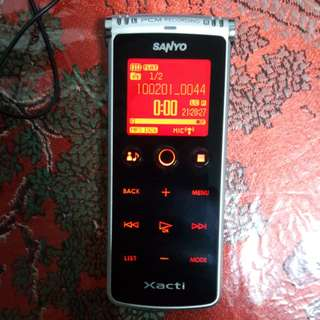 SANYO Xacti Model ICR-XPSO1M Brand New No Box