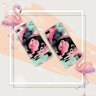 Floral Flaminggo phone Case
