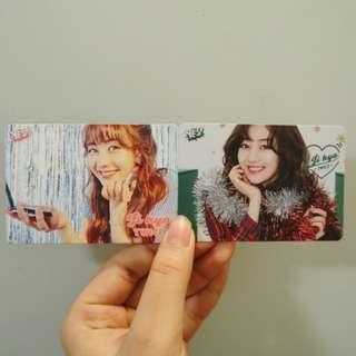 TWICE JIHYO YES CARD