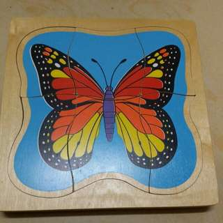 LIFE CYCLE OF BUTTERFLY PUZZLE