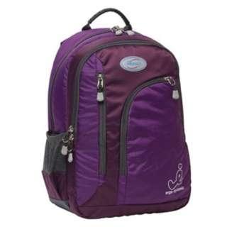 BN 🎒IMPACT🎒 Purple Children/ Kids' Ergo-Comfort/ Ergonomic Spinal Support School Bag/ Backpack (Model: IPEG-138)