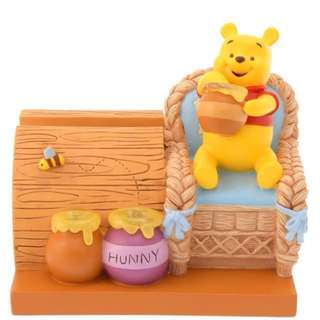 Disney Winnie the Pooh Mobile phone charger figure speaker 小熊維尼電話叉電器連揚聲器 (情人節禮物 Valentine's Day gift) Pooh's House 2018 系列