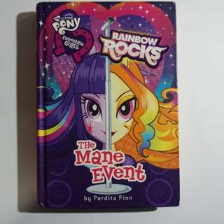 My Little Pony Equestria Girls Rainbow Rocks: The Mane Event Chapter Book