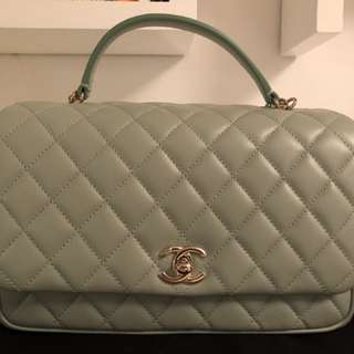 Chanel Flap Bag 2018 SS Green