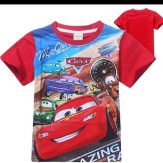 BRAND NEW lightning McQueen T-shirt