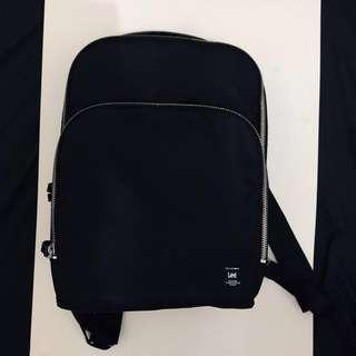 LEE 黑色 背包 背朗 backpack 98%新 90%new
