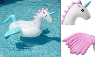 Rainbow Unicorn/Pony Float Rental
