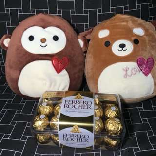 FERRERO ROCHER T30 + Squishy STUFFED TOYS