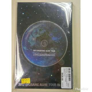 2012 BIGBANG Alive Tour In Seoul 世界巡迴演唱會首爾場(KOREA VERSION), 2 DVD + VIP card + 珍藏相册