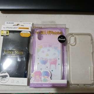 Iphone X Cover/Case (3pcs)