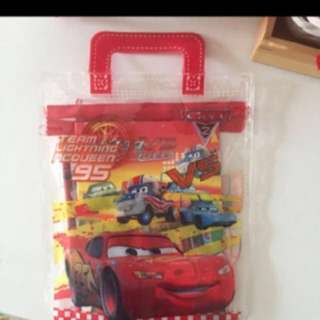 BRAND NEW Lightning McQueen Birthday Party Goodies Bag