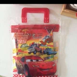 BRAND NEW Lightning McQueen Birthday Party Goodies Bag