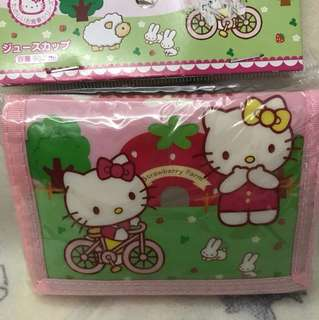 Hello kitty wallet for kids
