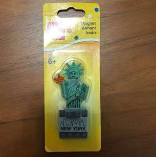 ✨降價✨樂高LEGO紐約限定自由女神像積木磁鐵