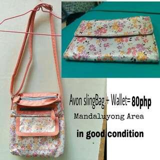 slingBag+wallet=80php