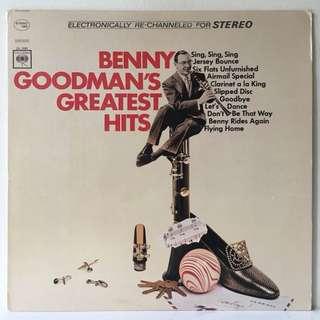 Benny Goodman – Benny Goodman's Greatest Hits (1966 USA Original - Vinyl is Mint)