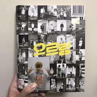 EXO Growl 으르렁 專輯連Xiumin 小卡