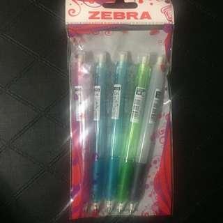 Zebra 0.5 鉛心筆 (5支一pack)