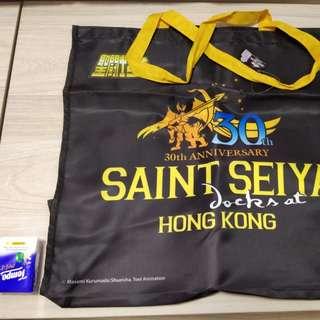 聖鬥士環保袋香港會場版