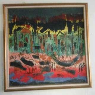 Lukisan Nelayan Ugo Haryono