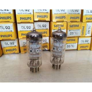 Philip DL92 NOS Tube Made In Holland - 3S4 / DL92 / CV820 / 2P2 / 2N2N