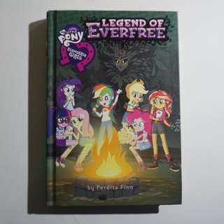My Little Pony Equestria Girls: Legend of Everfree chapter book