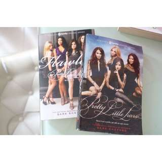 Pretty Little Liars 1st and 2nd Book