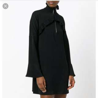 IRO ruffles detail dress