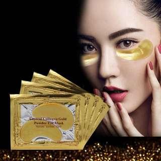 Gold Moisturizing Skin Care Gel Collagen EYE Hydrating Face Masks