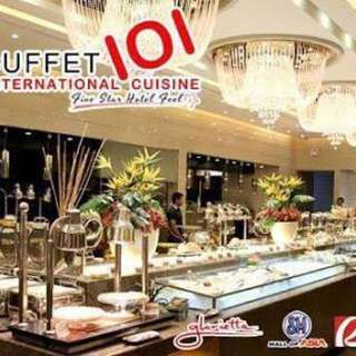 Buffet 101 voucher Dinner