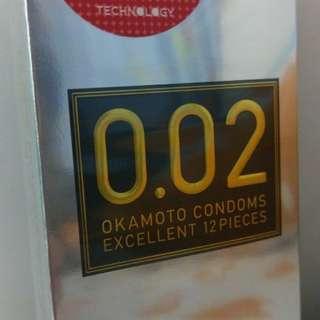 ●日本直送● 岡本安全套0.03 condom (13個)