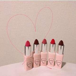 日本新品whomee化妝品代購♥️ lipstick
