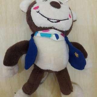 Preloved Boneka Monyet Lucu