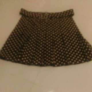 AGNES B skirt with belt