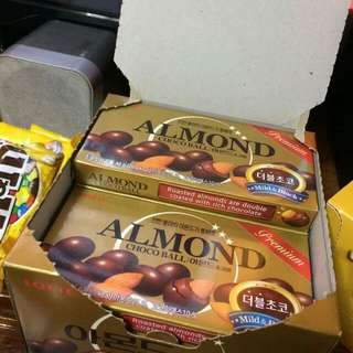 Almond Choco Balls