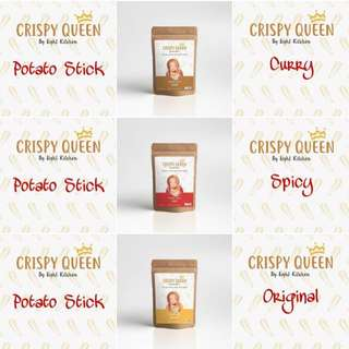 Crispy Queen Potato Sticks