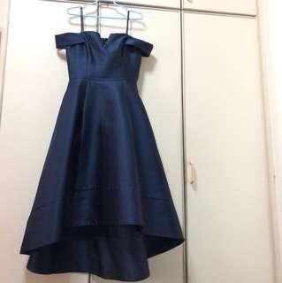 Willow Bardot Hi-Lo Dress