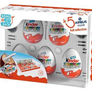 KINDER SURPRISE EGG AIRBUS LIMITED EDITION