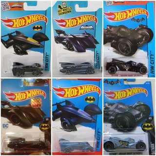 Hotwheels Diecast mobil Batman Movie series