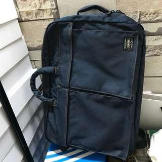 Headporter tokyo japan limited 限定3way bag backpack 牛仔布 3用袋 背包 手提袋 斜咩袋